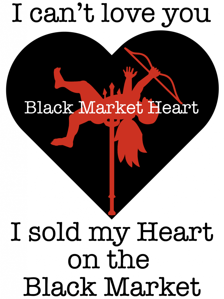 Black Market Heart graphic